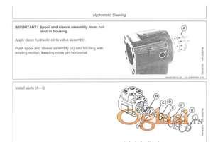 John Deere 7610 - 7710 - 7810 Uputstvo za održavanje i popravke