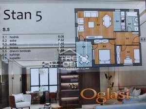 Prodaje se odličan trosoban stan u izgradnji!!