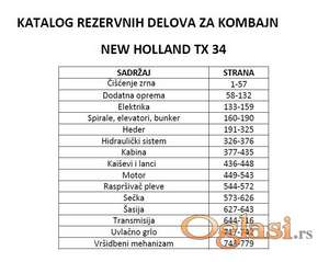 New Holland TX34 - Katalog delova