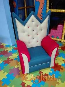 Dečija fotelja 1 - manja, veća