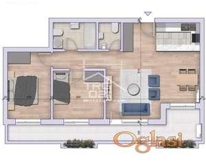 Trosoban stan kod Sajma! Novogradnja ID#3206