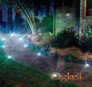 Solarne LED lampe za dvorište / 4 kom /