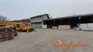 Rakovica - Poslovni prostor, hangar, zatvoreni i otvoreni deo