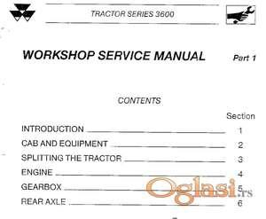 Massey Ferguson serije 3600 - radionički priručnik