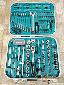 Gedore MAKITA set u koferu 227 alata nasadni kljucevi