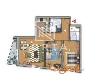 Prodaja,stan,3.0,77m2,Beograd,Zvezdara,Voje Veljkovića,111600eur+PDV(10%) ID#1127
