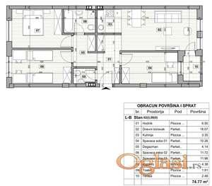 KLISA, 75 m2, 92850 EUR