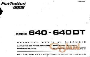 Fiat 640 (DT) - katalog delova