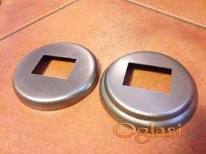 Rozetne za kutiju 40 X 30 mm metalne i aluminijumske