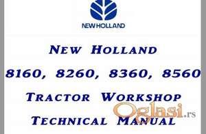 New Holland 8160 - 8260 - 8360 - 8560 radionički priručnik