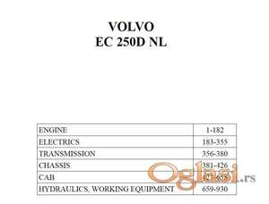 Volvo EC250D NL - Katalog delova