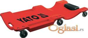 Mehaničarska ležaljka 1m sa 6 točkića