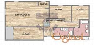 Četvorosoban stan na Starom Majuru!!