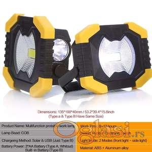LED lampa SOLARNA (ext. baterija)