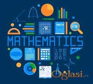 Matematika,hemija,fizika, 500 din/60 minuta