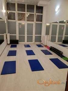 Strogi centar lokal pogodan za fitnes studio, jogu, pilates, ples..