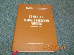 Komentar zakona o parničnom postupku - Milka Janković