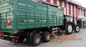 Prodaja NOVIH prikolica Dominator tandemka nosivosti 16 tona