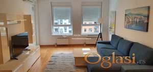 Izdavanje stanovi Novi Beograd-A blok-Dvosoban lux stan sa garažom