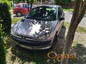 Prodajem Peugeot 206 dizel novi sad naselje klisa.