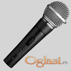 SHURE žični mikrofon profesionalni (