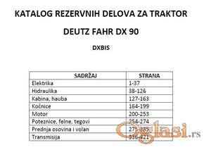 Deutz Fahr DX90  - Katalog delova