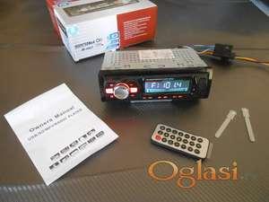 Auto radio Bluetooth, USB , AUX , Micro SD + Daljinski