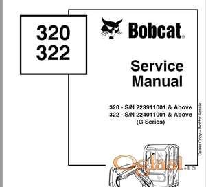 Bobcat 320 - 322  Radionički priručnik