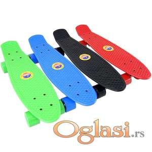 Skejtboard ABS Skateboard Penibord 56cm