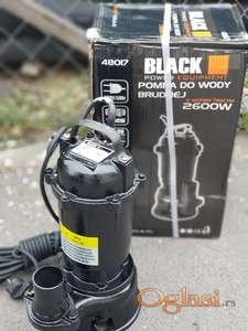 Muljna pumpa Black 2600w sa Seckalicom