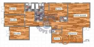 Petosoban stan na odlicnoj lokaciji