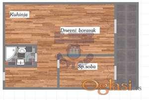 Dvosoban stan u izgradnji ** 021/6322-111 **