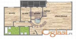 Fantastičan četvorosoban stan u izgradnji ! ** 021/6322-111 **