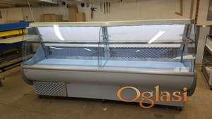 rashladna vitrina 250cm za mesnicu ili prodavnicu