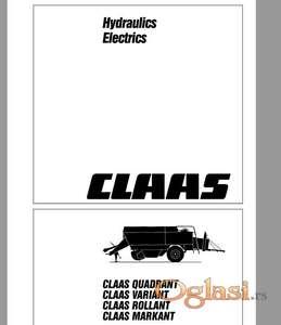 Claas Quadrant Variant Rollant Markant - Hidraulika i elektrika