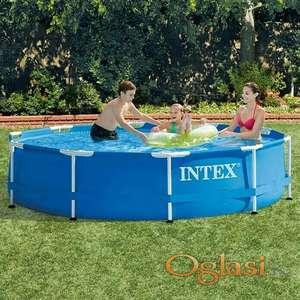 Intex Metal Frame Pool 305x76 Bez Pumpe