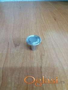 Niklovano dugme za namestaj
