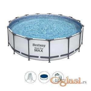 Bestway Steel Pro Max 457x122cm sa kompletnom opremom
