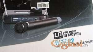 Prodajem bezicni mikrofon LD Systems