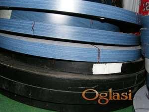 KANT TRAKA - PVC sa i bez lepka,plava,crna.