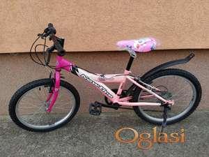 """Deciji zenski bicikl New Line Mosquito 6 brzina 20"""""""