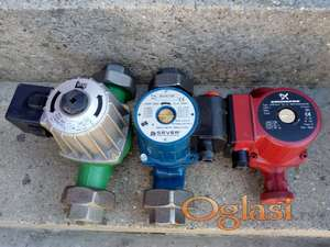 Cirkulacione pumpe za grejanje-nove i polovne ; razdelnici i termo ventili