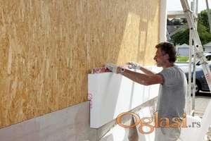 Molerski radovi izgradnja demit fasade i unapređenje energetske efikasnosti