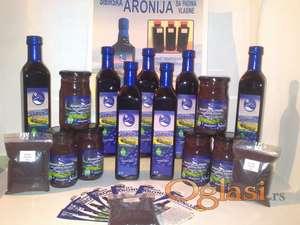Aronija vlasina, proizvodi od aronije.