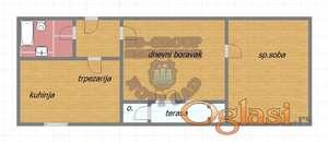 Useljiv stan na Novom Naselju..funkcionalnog rasporeda, terasa, lift..parking...