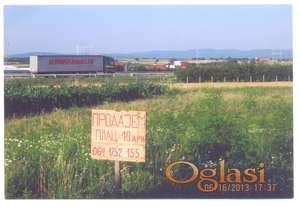 Prodaja kućevnog placa u Ćupriji