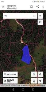 Prodajem zemljište u Galinama - Jagoštica blizu Prevov Krst, Perućac, Tara, Mitrovac