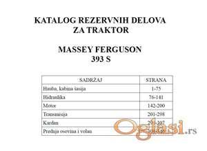 Massey Ferguson 393 S - Katalog delova