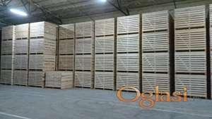 Drvene boks (box) palete - drveni sanduci