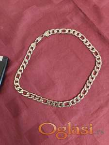 Muški lanac figaro rad pozlata